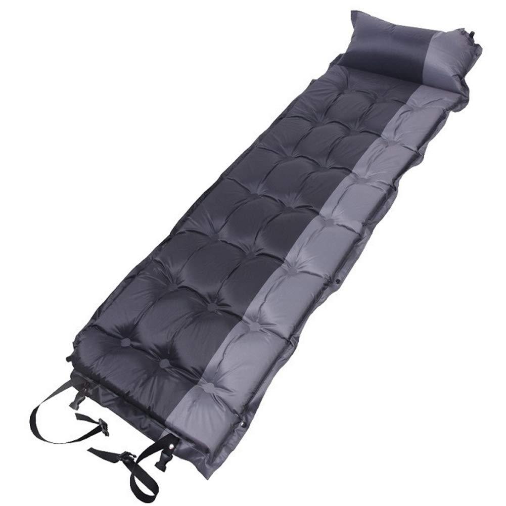 HomeMiYN Selbstaufblasende Schlafmatte Wasserdichte Camping Matratze Spleißbar Großes Luftkissen Faltbares Kissen Aufblasbares Kissen Zelt Camping Wandern Reisen