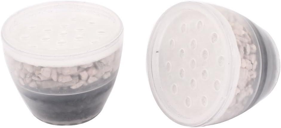 Grifo del fregadero de carbón activado agua del grifo purificador de filtros 2 piezas de Claro: Amazon.es: Hogar
