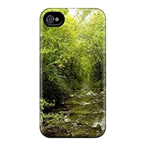 New Green Creek Tpu Skin Case Compatible With Iphone 4/4s