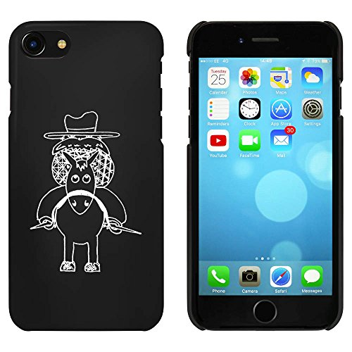 Noir 'Cow-Boy' étui / housse pour iPhone 7 (MC00064293)