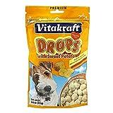 Vitakraft Drops with Sweet Potato Treat, Dog Snacks, 8.8-Ounce Pouch