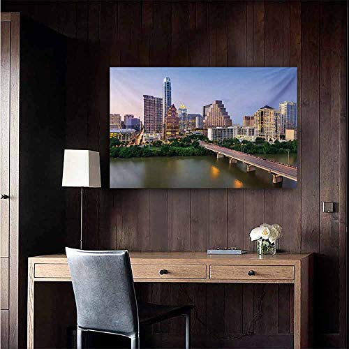 duommhome Modern Living Room Decorative Painting Austin Texas