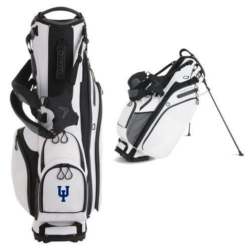 Upper Iowa Callaway Hyper Lite 4 White Stand Bag 'Official Logo' by CollegeFanGear