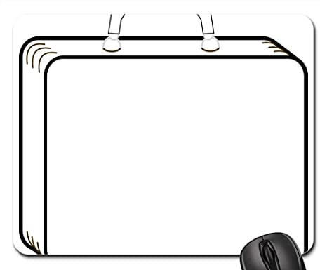 Amazon.com  Mouse Pads , Suitcase Luggage Outline Travel