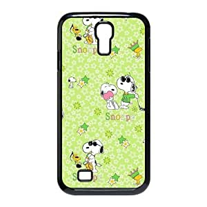 The Hot And Memorable Cartoon Snoopy And Woodstock Play Golf On The Grass For Samsung Galaxy S4 I9500 Durable Case