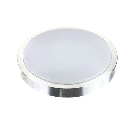 MCTECH 15W LED Luz Lampara de Techo y de Pared, Blanco Frío 6000K-6500K, Reemplazado 100W Instalación Directa en Forma Redonda 80 x 300 mm: Amazon.es: ...