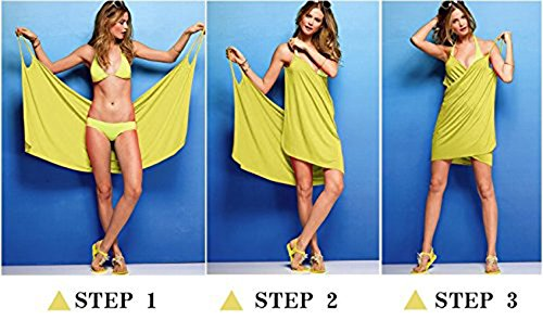 Dress Up Summer Sarongs Cover Women's Beach White Wrap Hollow Mesh Spaghetti Straps Out a5XqwPB