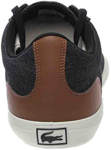 Lacoste Heren Lerond 317 2 Sneaker Zwart / Bruin