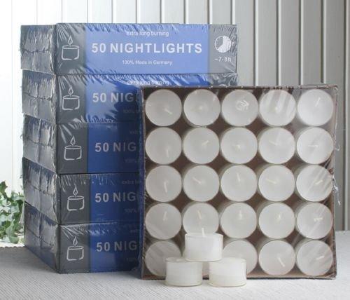 Luci di tè Gastro Pack 300CC di Nightlights, Transp. COVER, 7–8ore 7-8ore CandleCorner