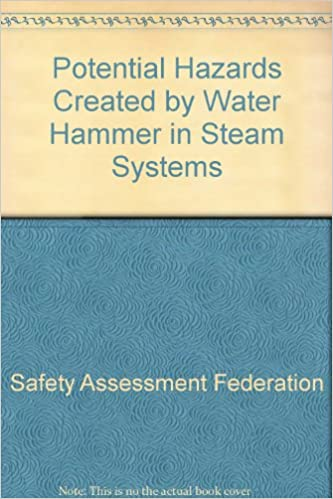 Buy Potential Hazards Created by Water Hammer in Steam