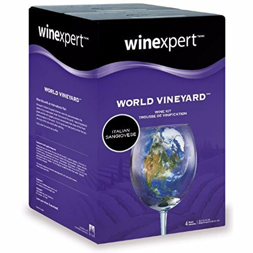 WineExpert  Homebrewing and Winemaking Supplies Italian Sangiovese (World Vineyard) Wine Kits Free Shipping