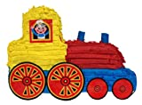 Train Pinata, 20'' Party Game, Decoration Centerpiece and Photo Prop