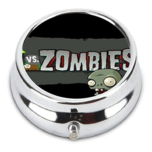 Price comparison product image Custom Plants vs Zombies Custom Fashion Pill Box Medicine Tablet Holder Organizer Case for Pocket or Purse