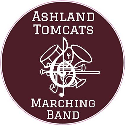 Amazon com: U S  Custom Stickers Ashland Tomcats Marching Band
