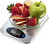Food Scale By Simple Health, Precision Digital Accuracy in Pounds, Grams, Ounces, Small Kitchen
