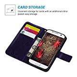 S7 Case,Galaxy S7 Case-(NOT FOR S7 EDGE) MOLLYCOOCLE [Natural Luxury Purple] Stand Wallet Purse Credit Card Holders Design Flip Folio TPU Soft Bumper PU Leather Slim Fit Cover for Samsung Galaxy S7