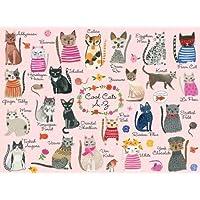Cool Cats A-Z Puzzle: 1000 Pieces