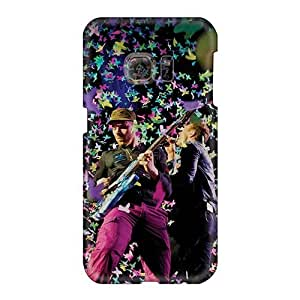 Shockproof Hard Cell-phone Cases For Samsung Galaxy S6 (PyO9751cypA) Provide Private Custom Attractive Coldplay Band Pictures