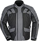 Tourmaster Transition Series 4 Men's Textile Motorcycle Touring Jacket (Gun Metal/Black, XXX-Large)