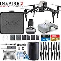 DJI INSPIRE 2 Quadcopter and DJI Goggles FPV Headset Combo
