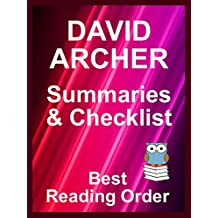 DAVID ARCHER BOOKS IN ORDER WITH SUMMARIES AND CHECKLIST - Includes latest Sam Prichard and Noah Wolf titles: All Books Listed in Order - Includes Checklist, ... Easy Ordering (Best Reading Order Book 85)