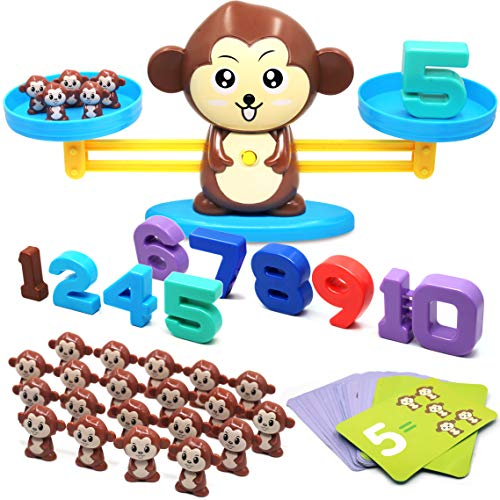 Math Games 4 Kids - Balance Math Game Counting Toy -