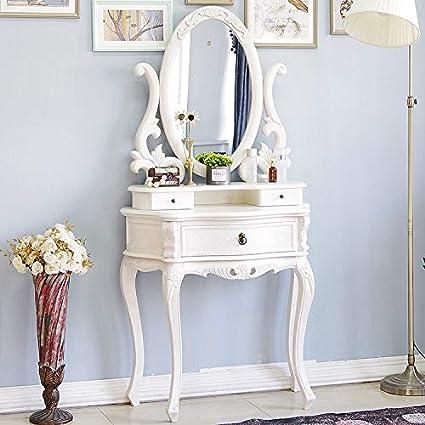 Amazon.com: Solid Wood Bedroom Dresser Minimalist White ...