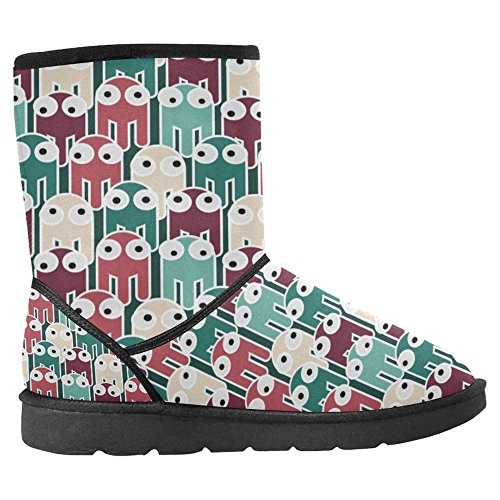 InterestPrint Womens Snow Boots Unique Designed Comfort Winter Boots Multi 14 tTLS0n6lyC