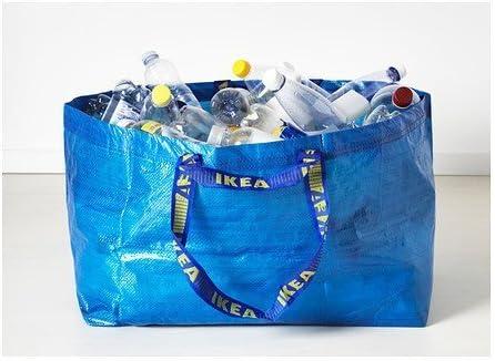 5x FRAKTA Ikea Einkaufs Trage Tasche XL blau 71L NEU Leergut Umzug bis 25kg