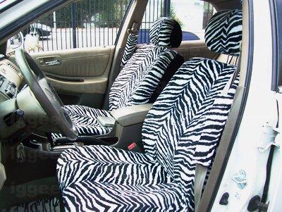 ZEBRA CAR TRUCK SUV PREMIUM SEAT COVER COVERS