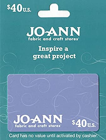 eec898a50a Amazon.com  Jo-Ann Stores  40 Gift Card  Gift Cards