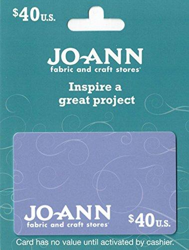 Jo-Ann Stores $40 Gift Card