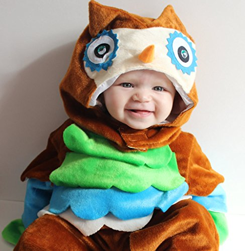 GnG Infant/baby/toddler-Unisex - Owl - Cutie Spooky Hoot! Halloween Costume (small (6 to 12 (Owl Halloween Costumes Baby)