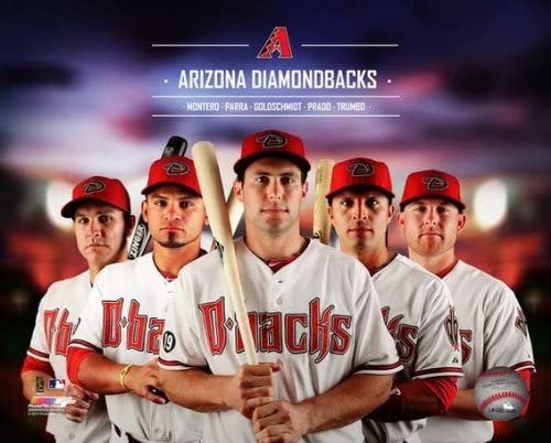"B00JG519NW MLB Arizona Diamondbacks 2014 Team Composite Photo (Size: 8"" x 10"") 51eSXl08-dL"
