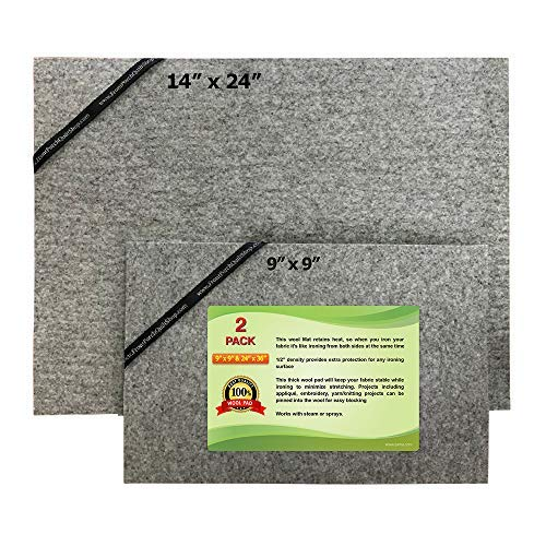 Embroidered Mat Standard - ZaMa 2Pack (14x24