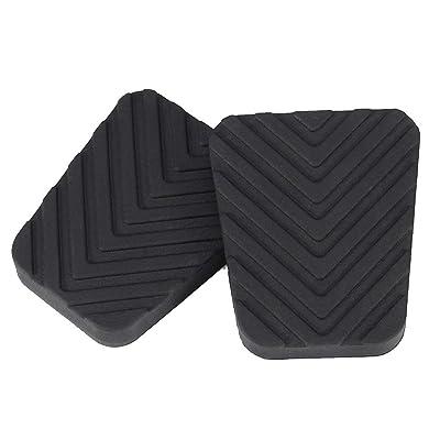 1 Paire de Frein Pédale d'embrayage en Caoutchouc Noir Couverture de Remplacement antidérapante Pad pour Hyundai Accent 3282536000 Censhaorme High-tech