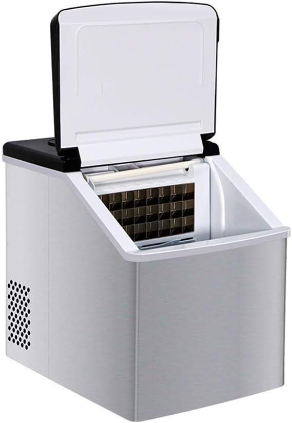 HIZLJJ Fabricante de Hielo portátil encimera silencioso y fácil ...