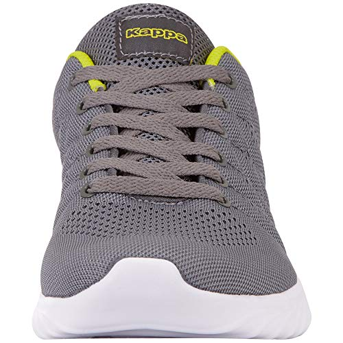 grey Kappa Unisex adulto Eu Grau Sneaker Festy lime 1633 XwwZqgC
