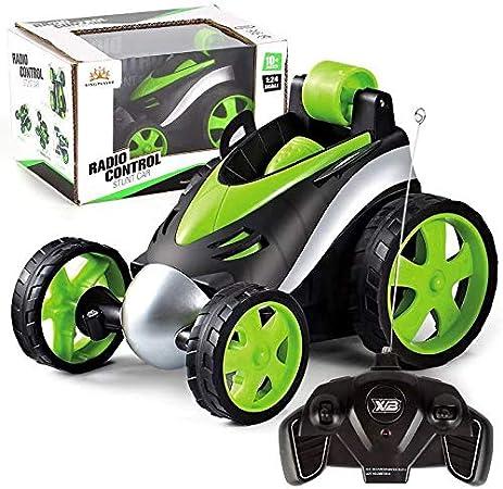 Remote Control Car, DJgold Stunt Car 360° Forward and Backward Flip Rolling Educational Intelligence / Hand on Toy for Children Kids