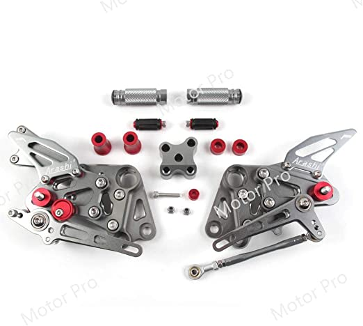 Rearsets for KTM DUKE 390 2016-2017 RC 390 2014 2015-2018 Motorcycle Accessories Adjustable Footrests Foot Peg Rear Sets RC390 Black Version 2.0 Arashi