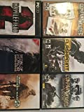 6 PC Game Pack Battlefield 2, Modern Warfare 2, Flashpoint Dragon Rising, Company of Heros Gold Edition, Medal of Honor LE, Company of Heros: Tales of Valor