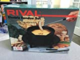 Rival Electric Fondue Pot Set Model 5250 2 Quart