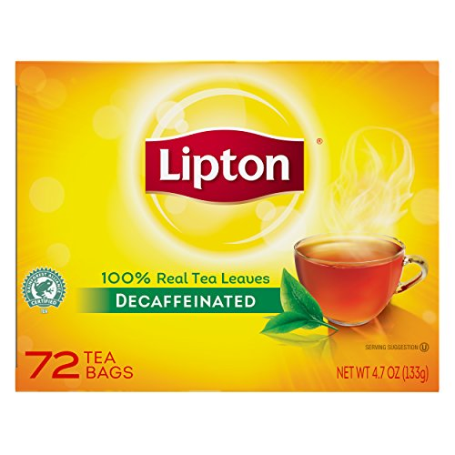 Lipton  Hot Tea Black Decaffeinated 72 count