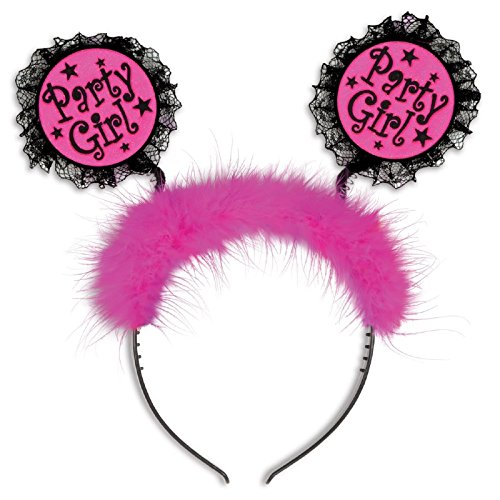 Club Pack of 12 Fuzzy Pink and Black