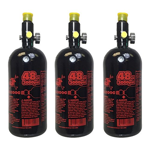 Maddog 48 3000 Compressed Air Tank 3 Pack