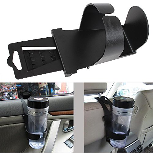 Universal Scalable Auto Car Vehicle Door Seat Mount Drink Bottle Holders Cup Holder Clip on Stand - Car Cup Holder Window