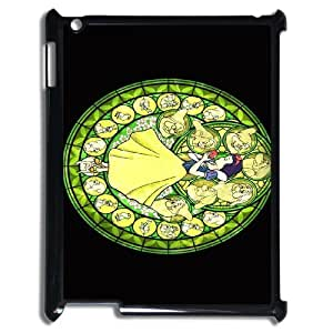 Disney All Characters Stained Glass For Ipad 2/3/4 Case AKN223989