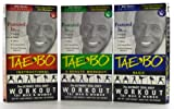 Tae-Bo: Basic, Instructional and famous EIGHT Minute Workout TAPES [All 3] (Tae-Bo: The Ultimate Total Body Workout for Men & Women) [VHS]