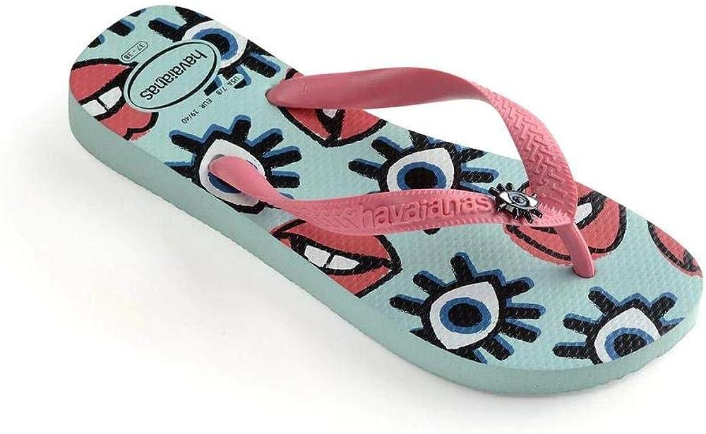 Chanclas Mujer Morado 41 EU Havaianas HAV Top Fun Blue Pink Porcelain