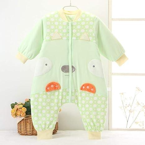 Gleecare Saco de Dormir para bebé,Pinza de algodón de bebé algodón Anti Retroceso Universal